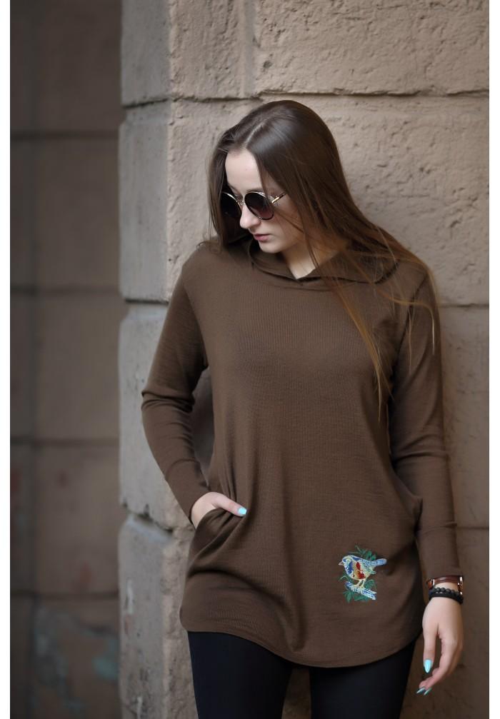 Moteriškas megztinis R-727