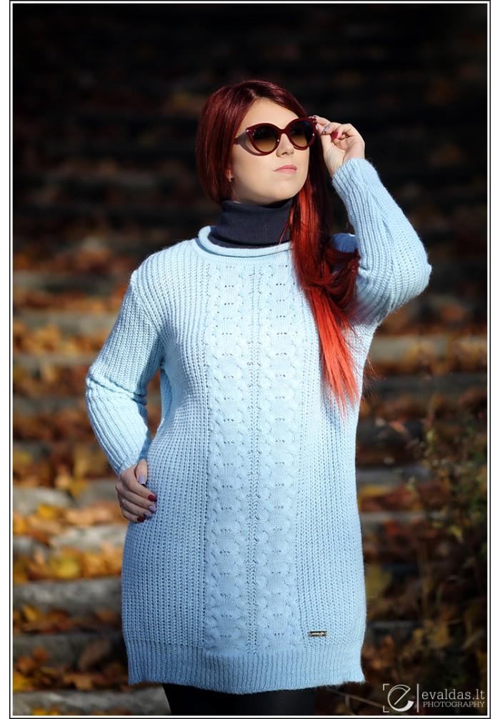 Moteriška suknelė tunika R-808