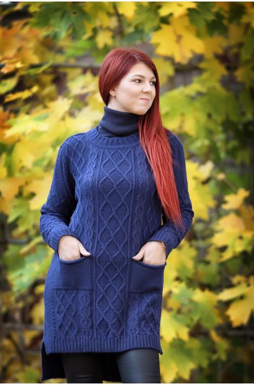 Moteriškas megztinis R-804