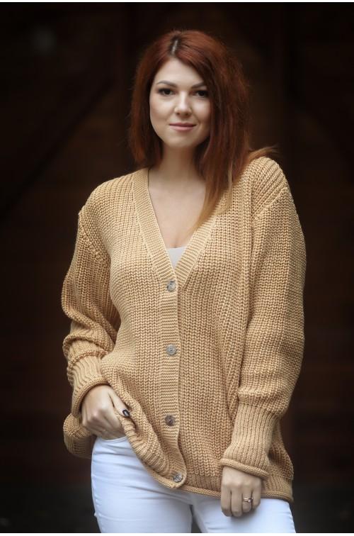 Moteriškas megztinis R-883 A